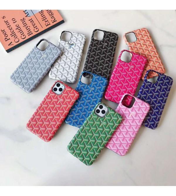 iphone 12 mini/12/12 pro/12 pro maxケースGoyard ゴヤール iphone 11/11pro max/xrケースジャケット お洒落  iphone xs/xs maxケース人気 男女兼用 高品質 激安