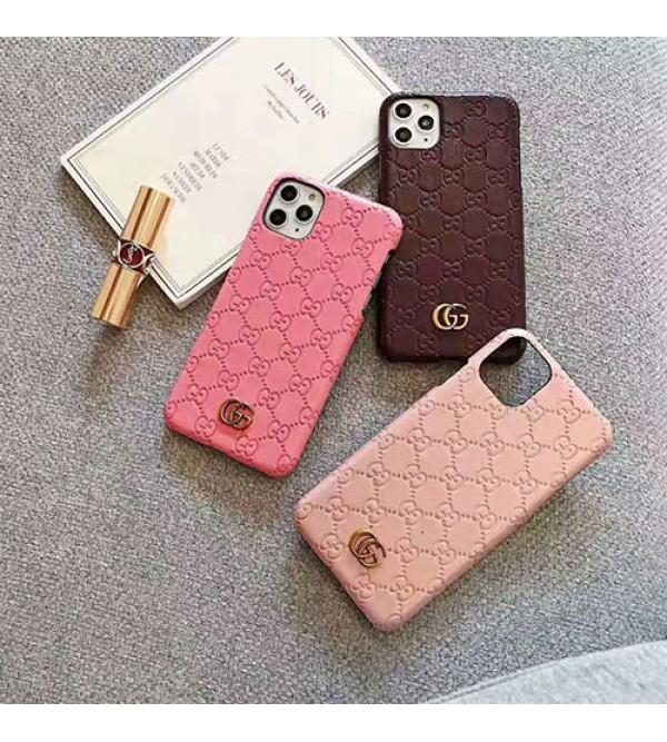 iphone 12 ケースグッチ iphone11/11pro11 pro maxケース ブランド iphone xr/xs maxケース オシャレアイフォン X/se2/8/7 PLUSケース シンプル高級