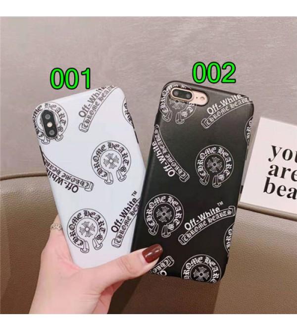 Chrome Hearts IPhone Xr/Xs Max/Xsケース ファッションIphone X/8/7/se2スマホケース クロムハーツブランドIphone6/6s Plus Iphone6/6sカバー ジャケット 名流人愛用