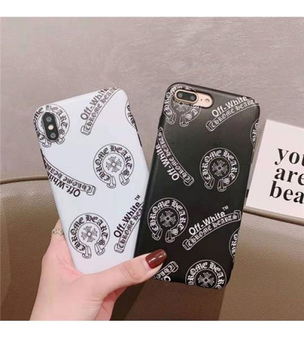 Chrome Hearts IPhone Xr/Xs Max/Xsケース ファッションIphone X/8/7スマホケース クロムハーツブランドIphone6/6s Plus Iphone6/6sカバー ジャケット 名流人愛用