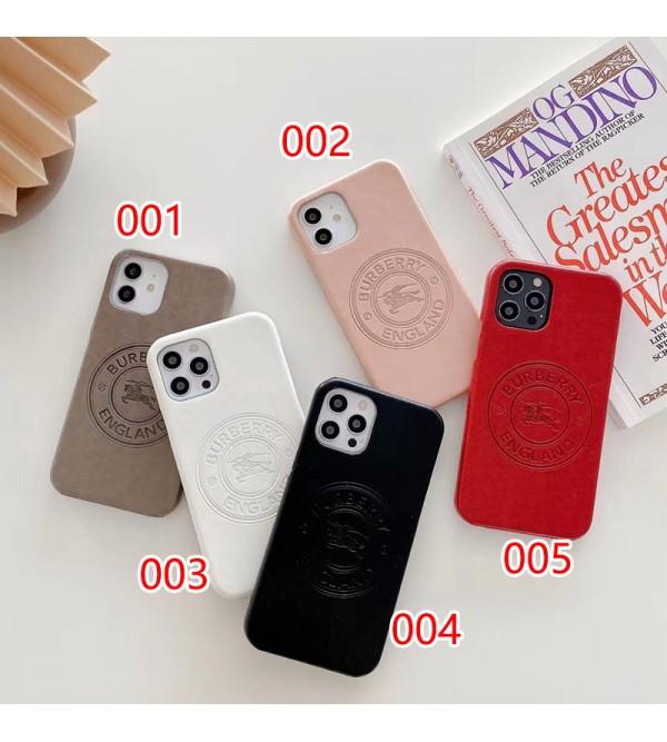 バーバリー iphone 13 pro/13 pro max/13 miniケース シンプル Burberry ブランド セレブ愛用 レザー アイフォン13/12/11/x/xs/xr/8/7ケース メンズ レディーズ