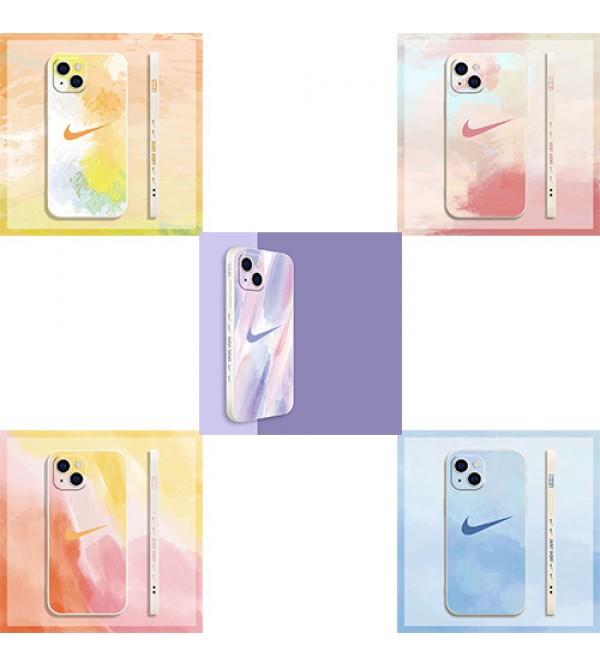 ナイキ iphone 13 mini/13 pro/13 pro maxケース ブランド Nike 韓国風 ビジネス 絵画 シリコン ジャケット型 アイフォン13/12 pro/12 pro max/x/xs/xrケース おまけつき 大人気 メンズ レディース