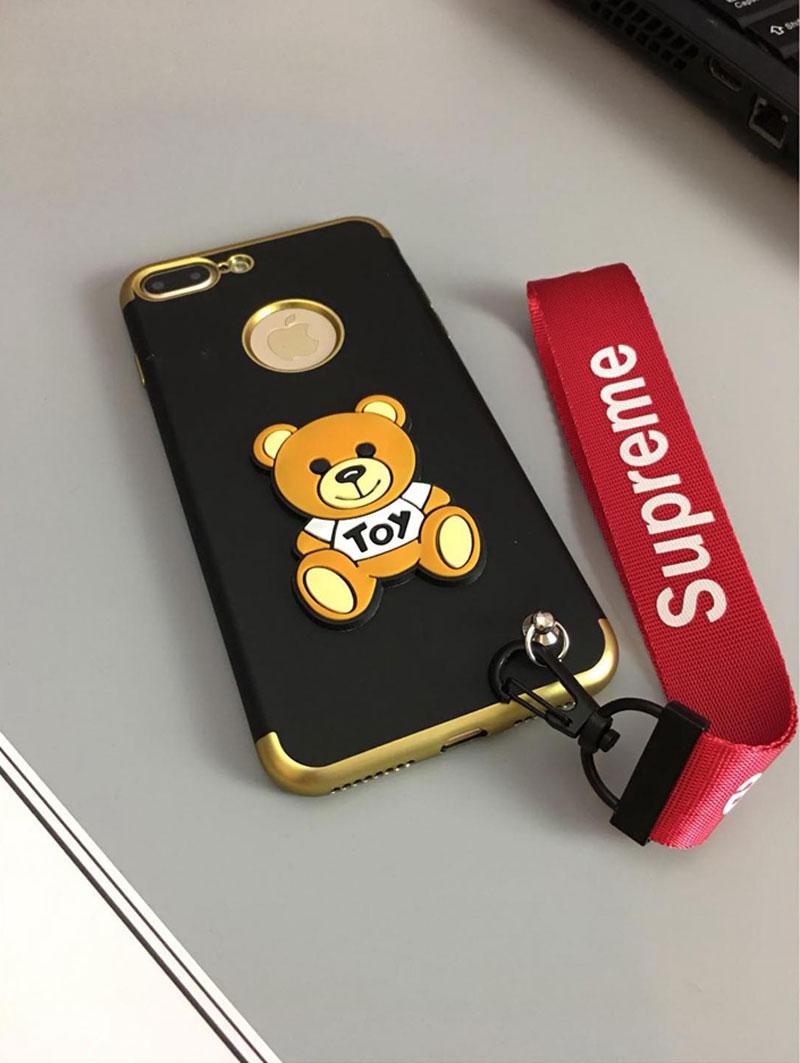 シュプリーム アイフォン8plusカバー