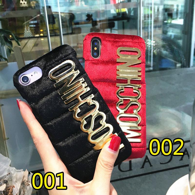 ブランド moschino iPhoneXケース