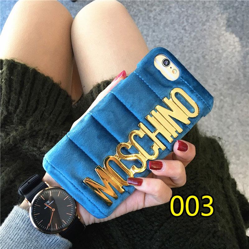 モスキーノ iPhoneXケース