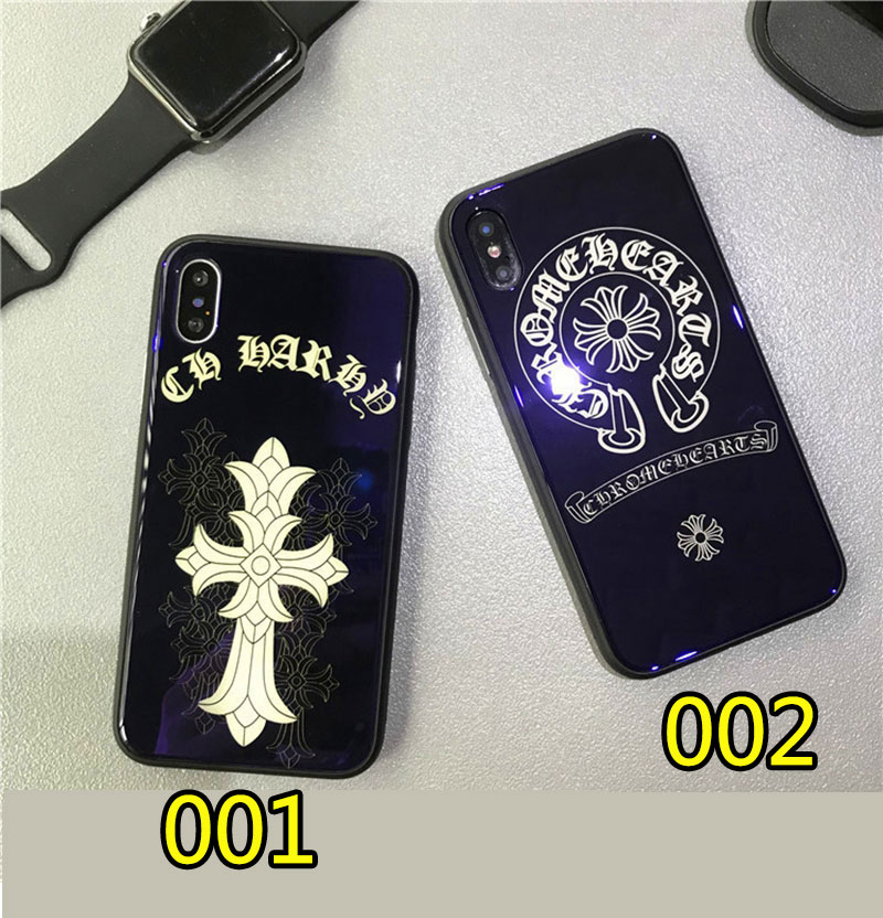 ブランドChrome Hearts IPhoneXケース