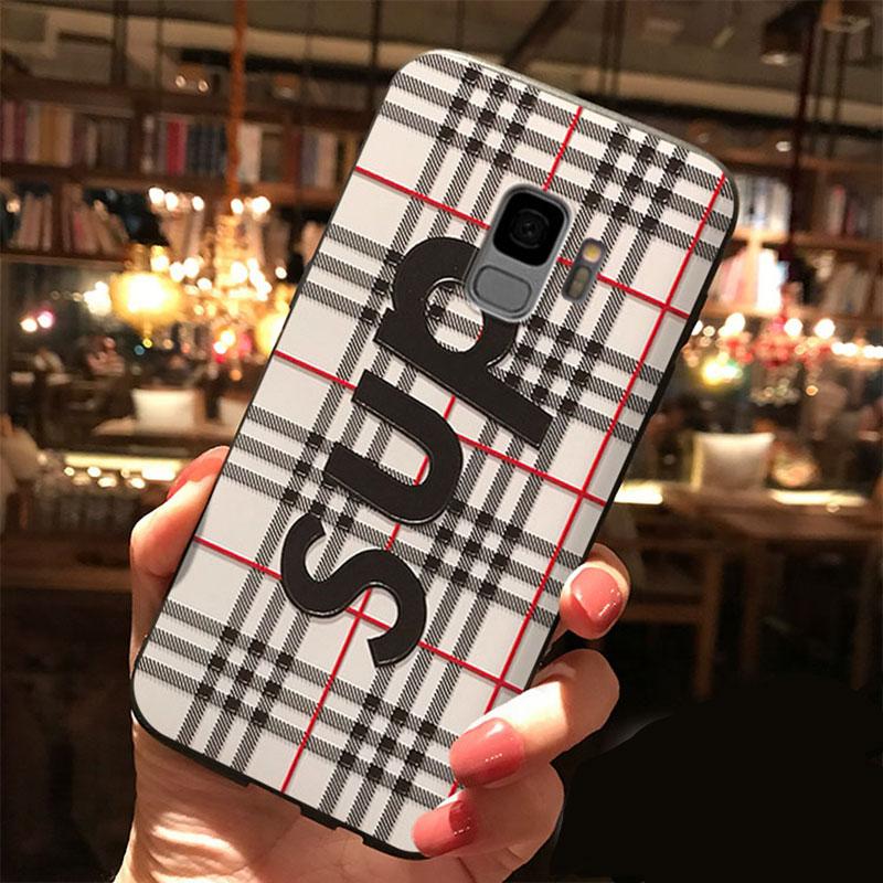 シュプリーム ギャラクシー S9+スマホケース