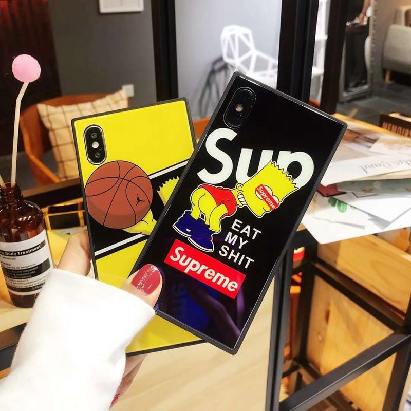 ブランドシュプリーム iPhoneXケース