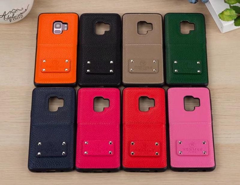 Galaxy S9+ケース ブランドhermes