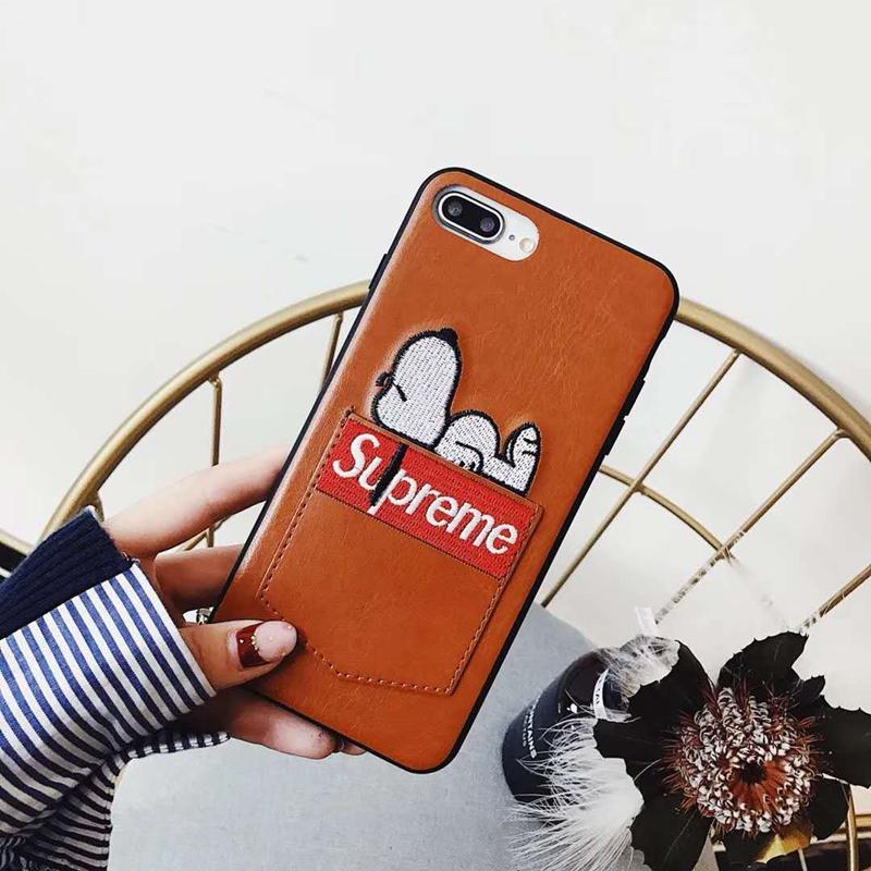 ブランド Supreme IPhoneXケース
