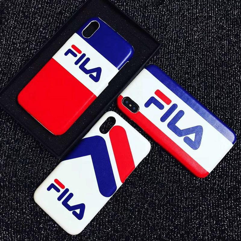 FILA IphoneXカバー