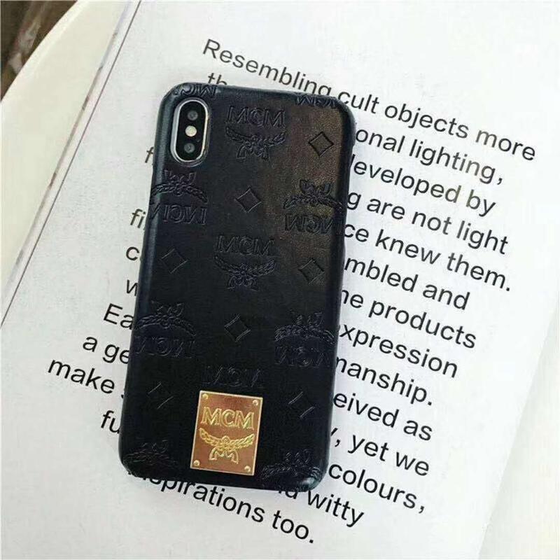 iphone xケース ブランド MCM