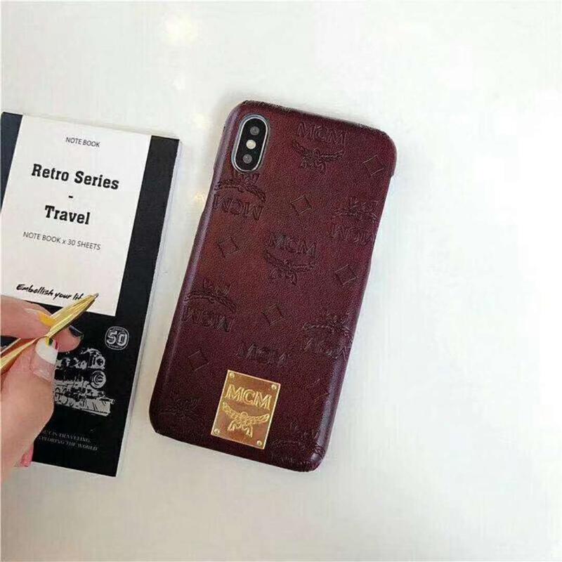 iphone xケース ブランド エムシーエム