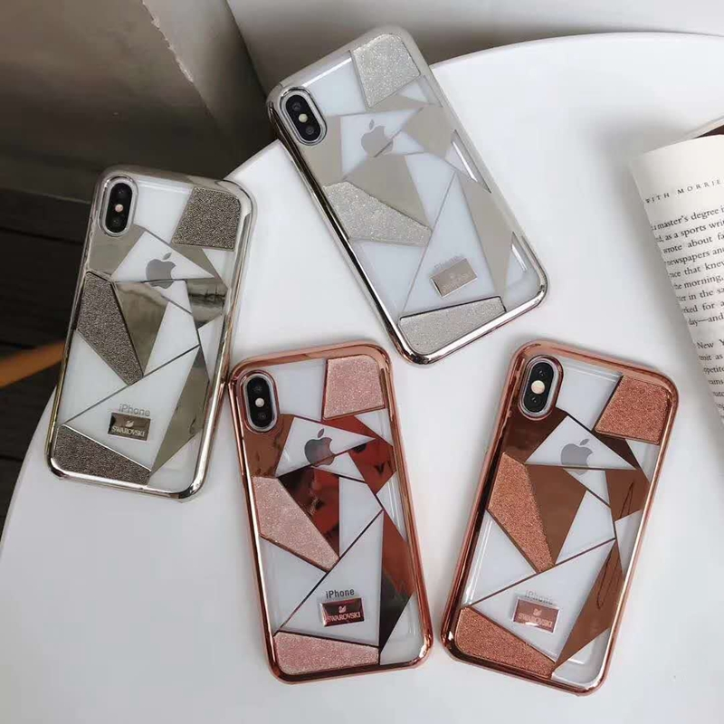 ブランド swarovski iPhone xケース