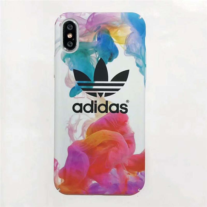 iPhone xカバー adidas