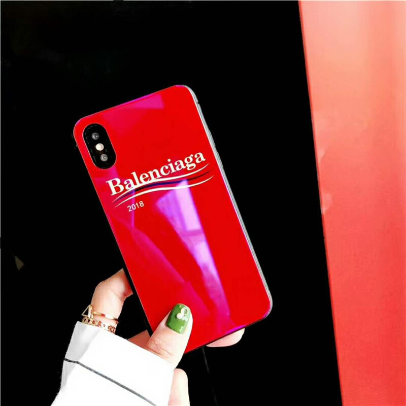 iPhone xs maxケース ブランド バレンシアガ