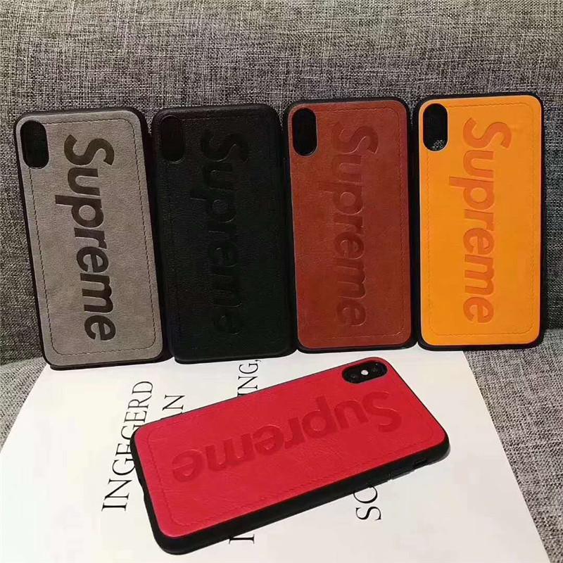 iphone xs maxケース supreme