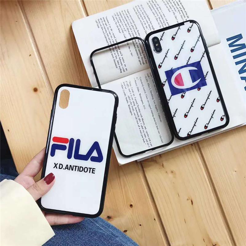 iPhone xs maxケース ブランド FILA