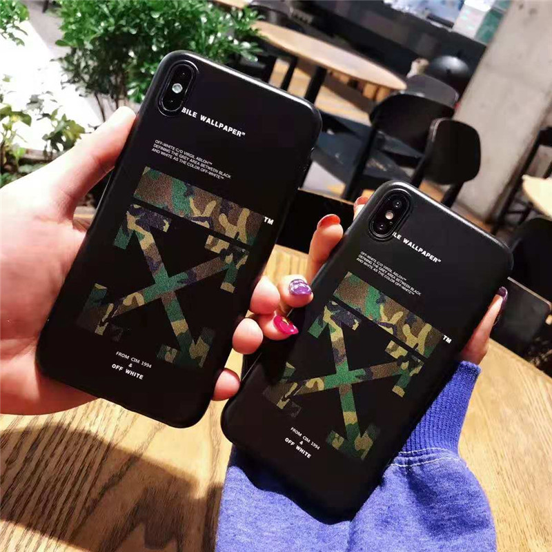 iphone xrケース off white