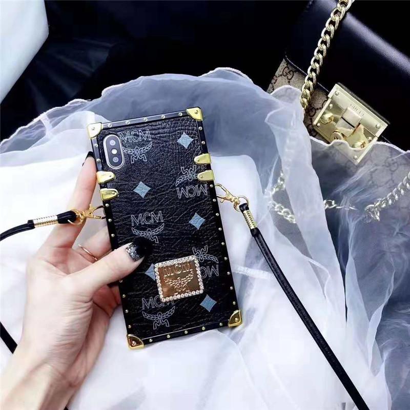 iPhone xs maxケース ブランド エムシーエム