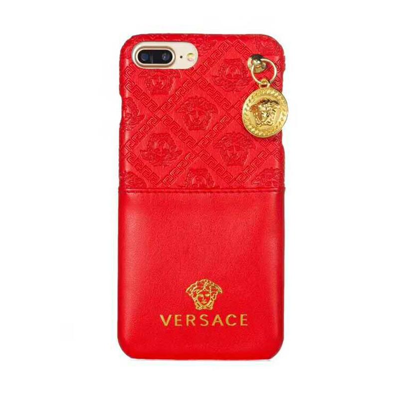 iphone xrケース versace