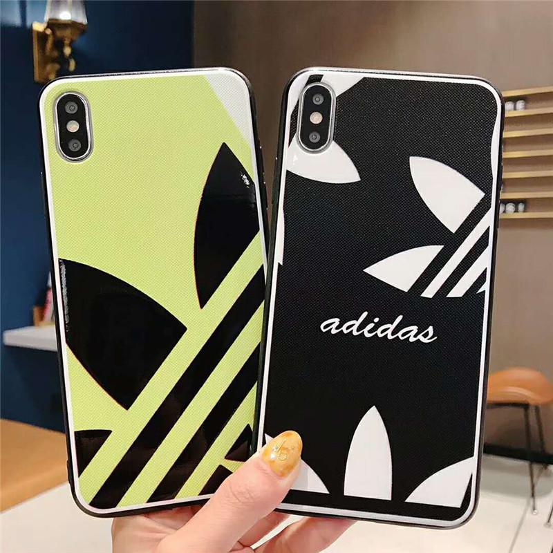 iphone xrケース ADIDAS