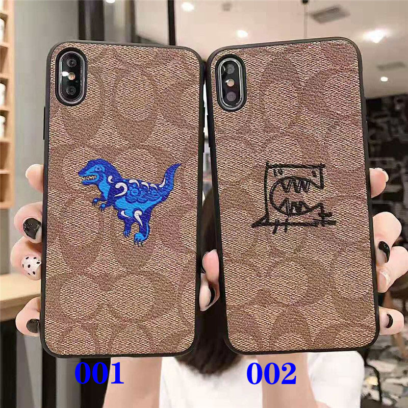 iphone xr/xs maxケースコーチブランド