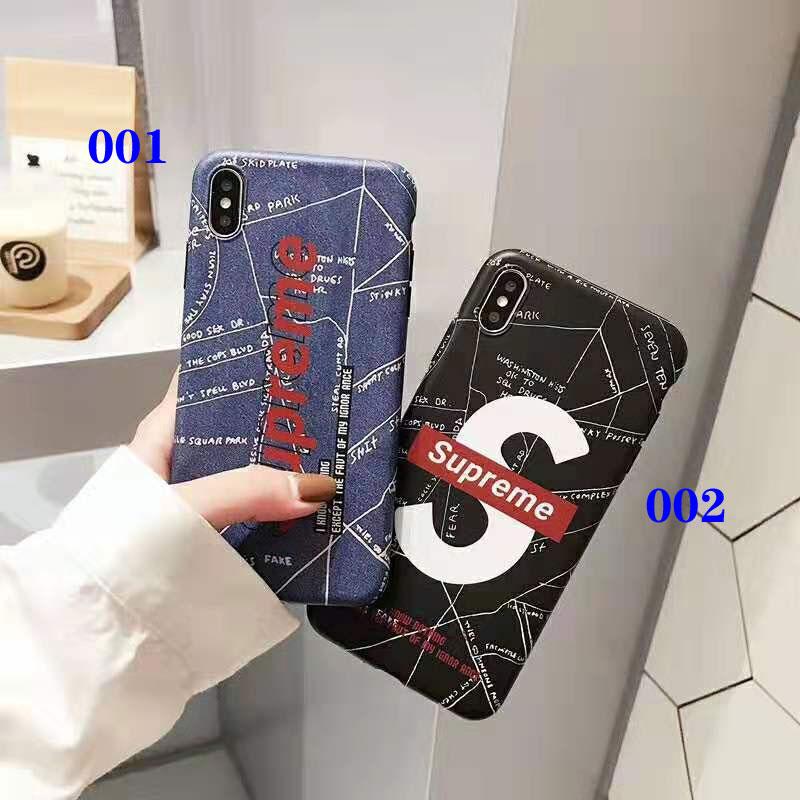 iphone xr/xs maxケースシュプリーム 個性