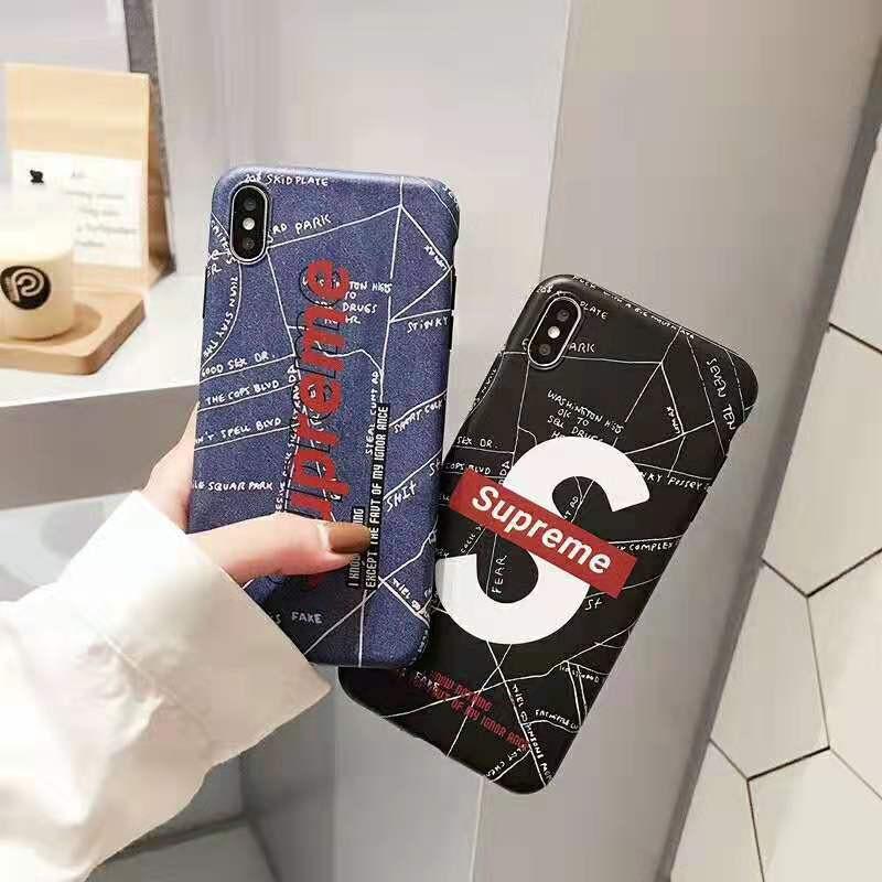 ブランド iphone 10s/11R/XIケースシュプリーム