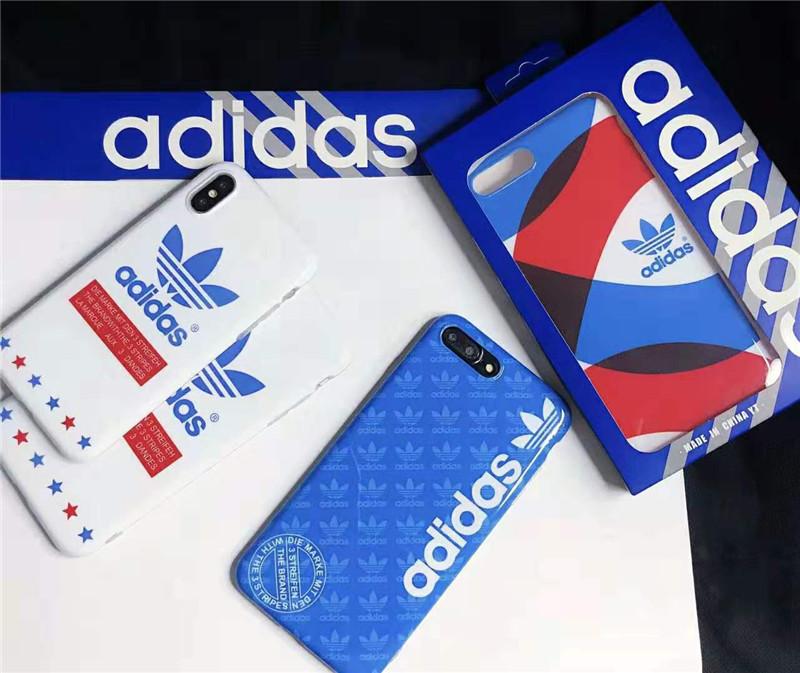 iphone X/8/7 plusケースアディダス ブランド