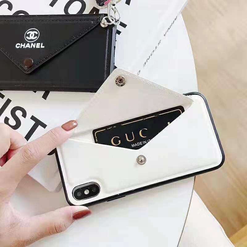 お洒落人気 iphone x/8/7 plusケースシャネル