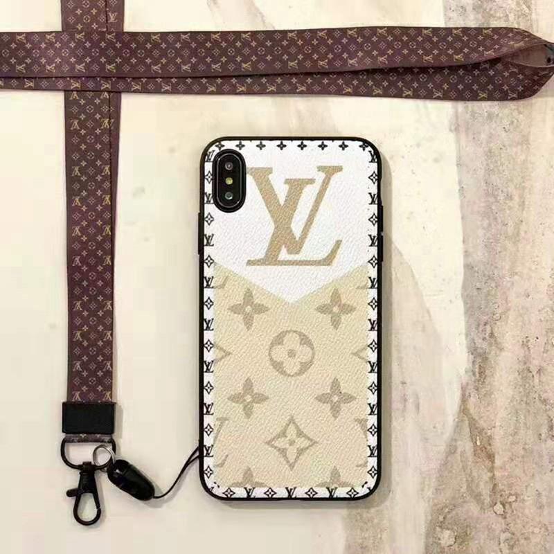お洒落モノグラム iphone X/8/7 plusケース ルイヴィトン lv