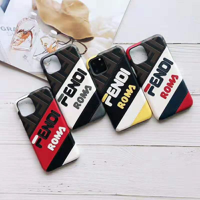 お洒落人気iphone xr/xs maxケース フェンデイ