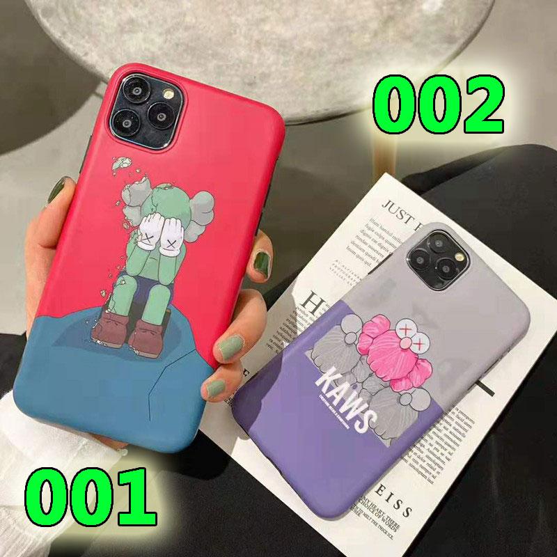 KAWS iphone11/11pro/11 pro maxケースキャラクター付き