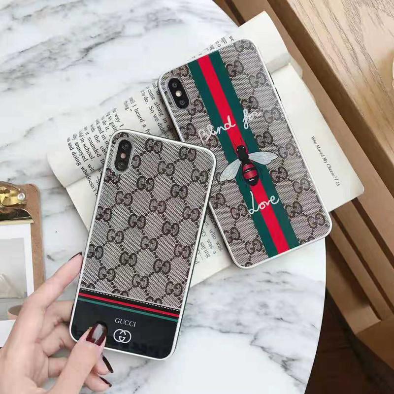 オシャレ人気iphone x/8 plusケース グッチ
