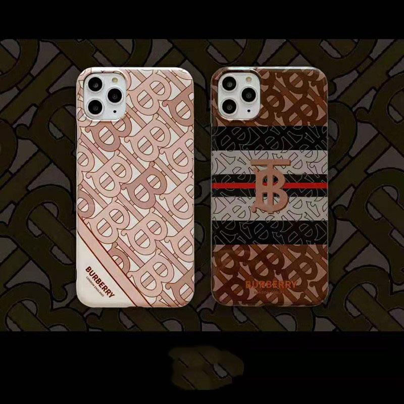 オシャレ人気iphone xr/xs maxケースバーバリー ブランド
