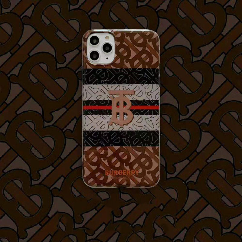ファッションiphone x/8/7 plusケースburberry ブランド