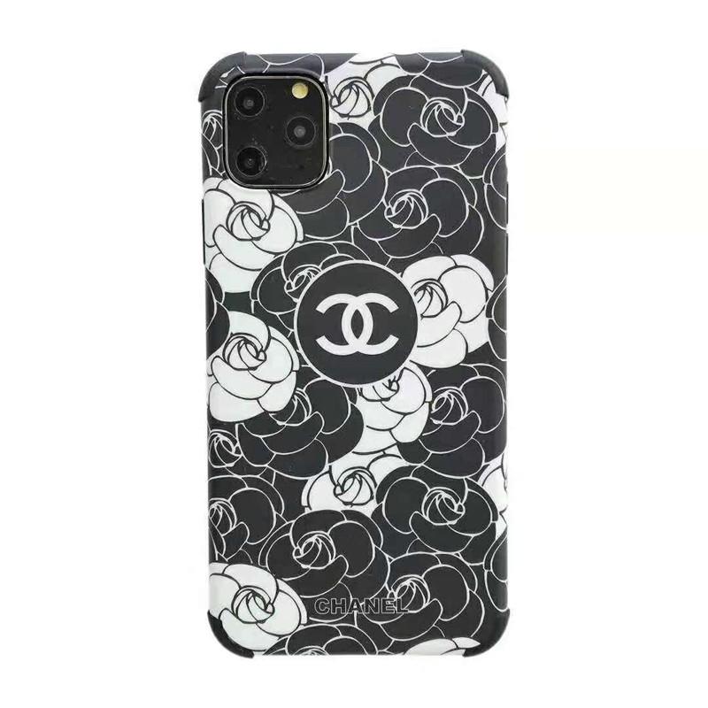 オシャレカメリア付きiphone11/11 pro maxケースシャネル