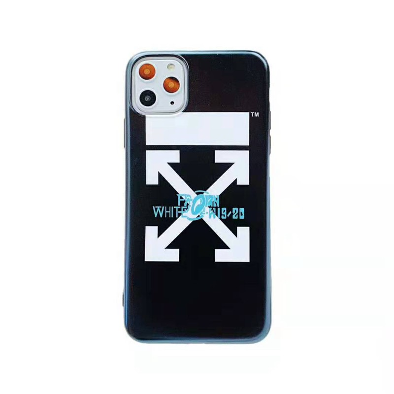ペア向けiphone x/8/7 plusケース off-white