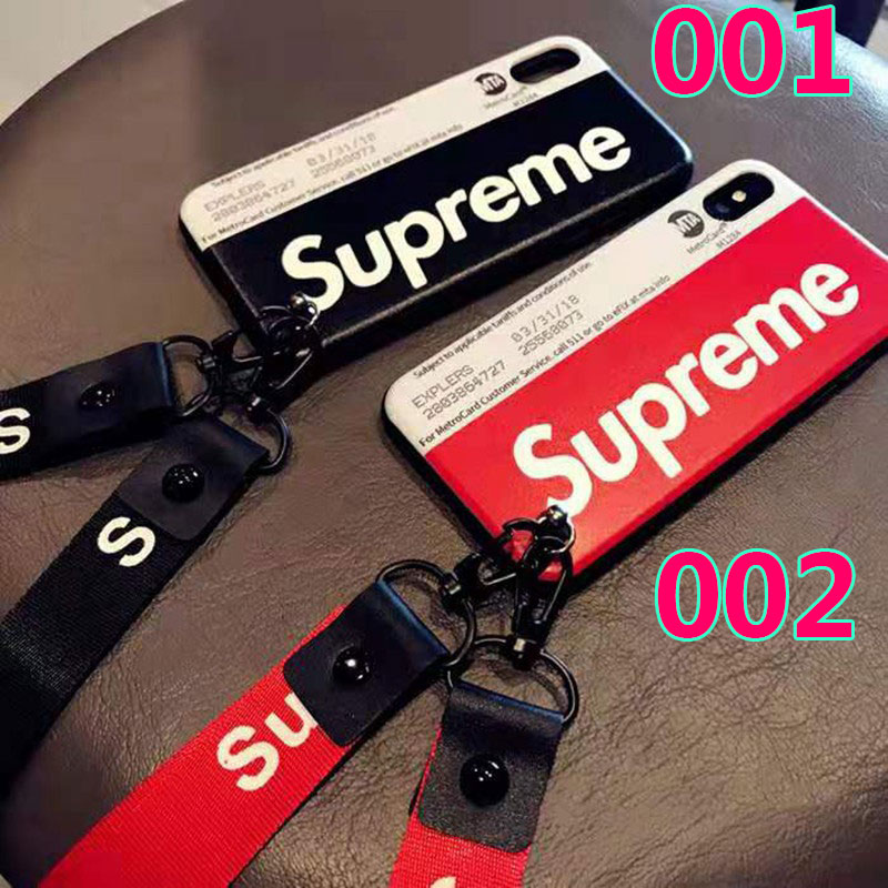 iphone11/11 pro maxケース シュプリーム ブランド