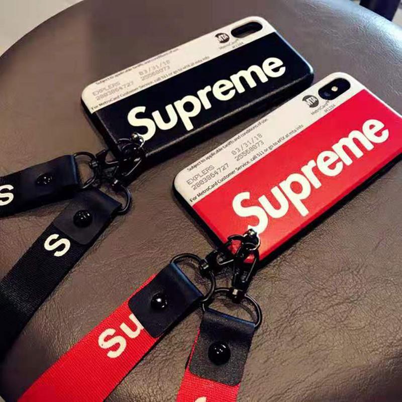 個性地下鉄カードiphone xr/xs maxケース シュプリーム ブランド