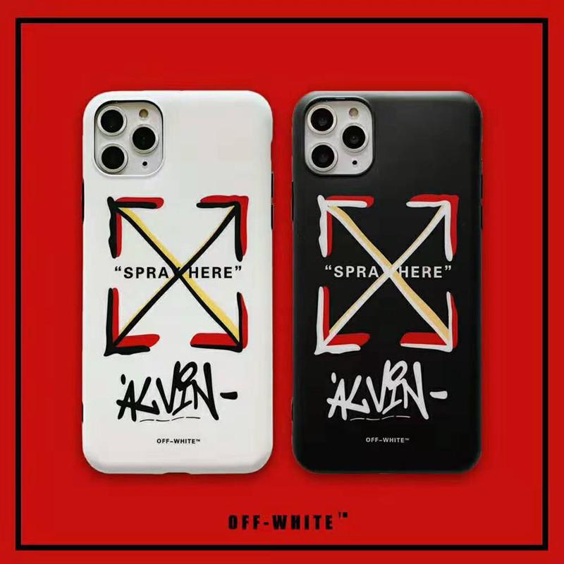 個性潮流 iphone 11 pro maxケース オーフホワイト