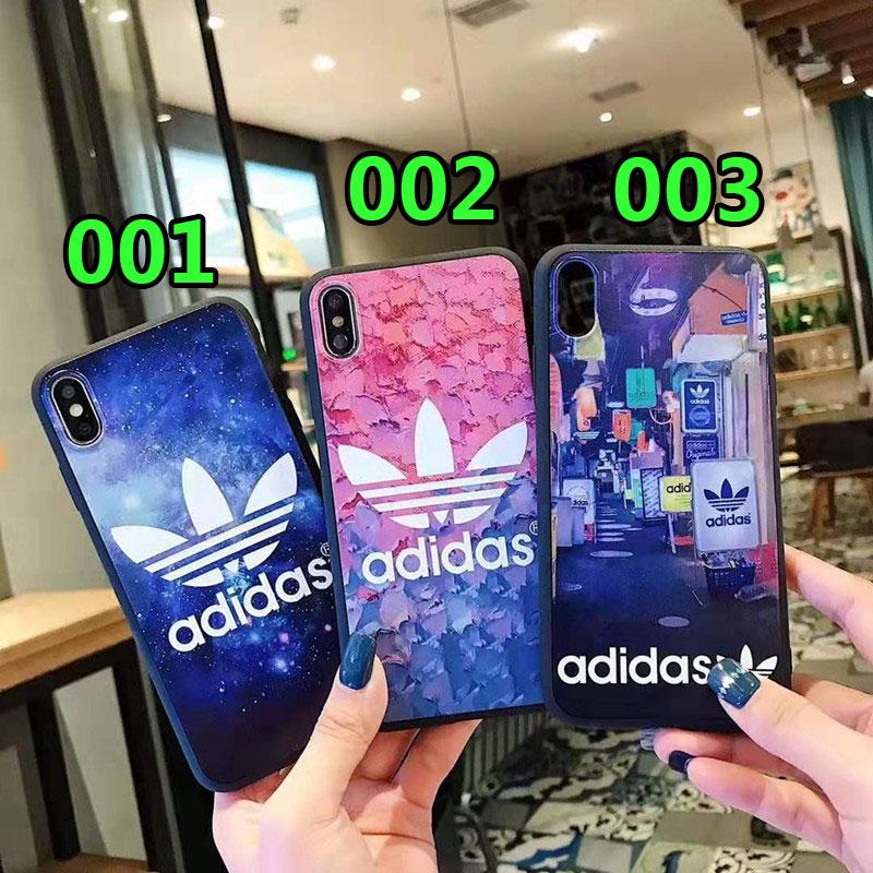 iphone11/11pro maxケースアディダススポーツ風