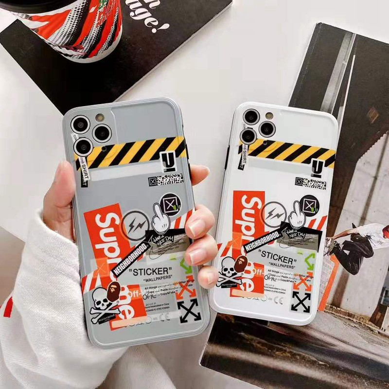 ブランド 人気 iphone x/8/7ケース シュプリーム