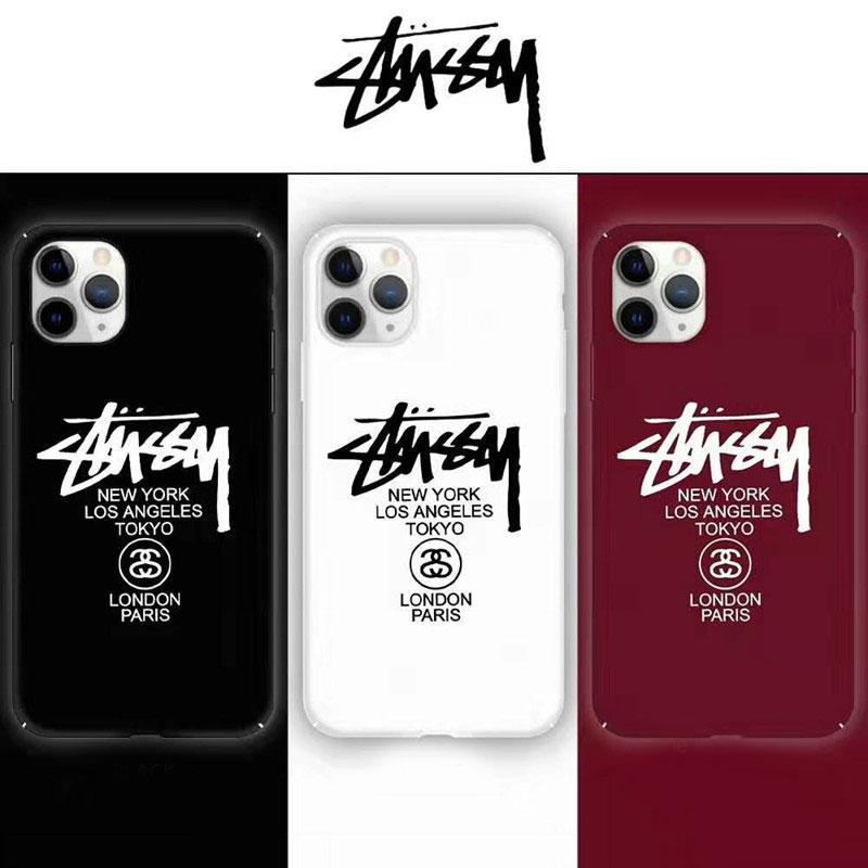 個性潮流 iphone x/8/7 plusケースステューシー