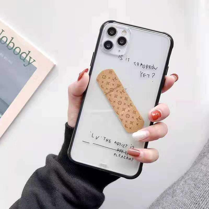 透明人気 iphone x/8/7 plusケースルイヴィトン