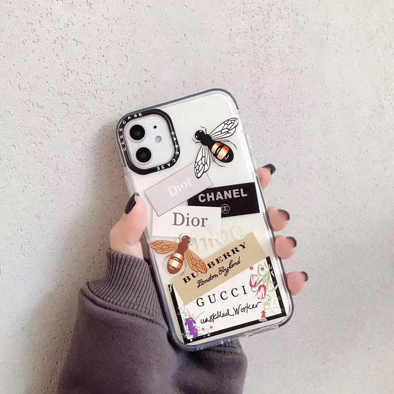 おしゃれタグ付きiphone11/11pro maxケースグッチバレンシアガ