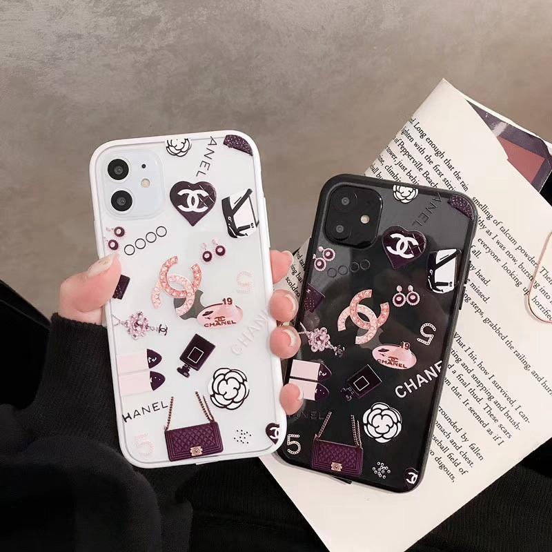 ブランドiphone xr/xs maxケースシャネル小香風