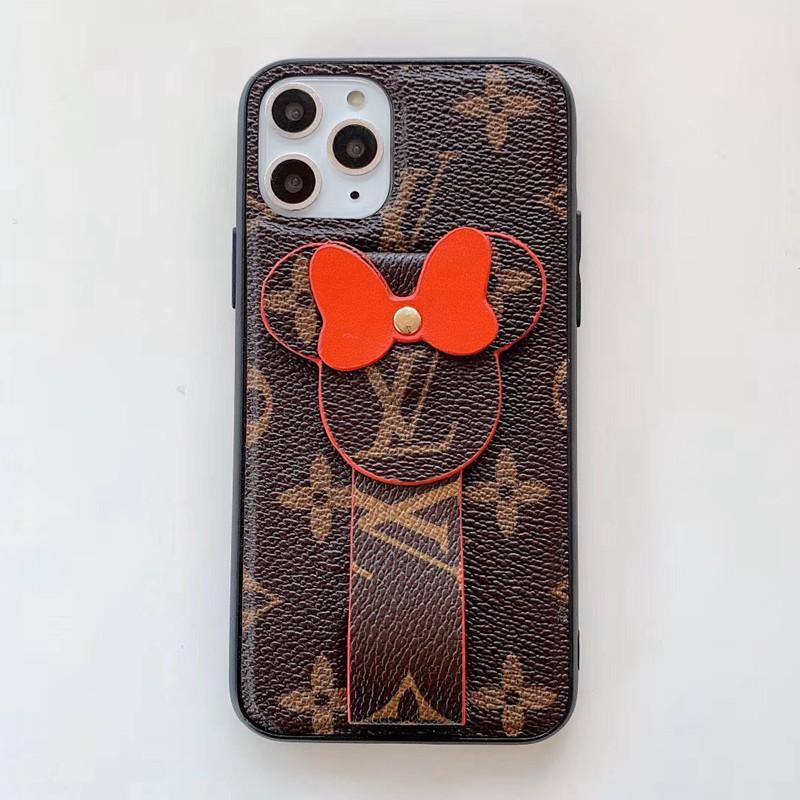 可愛いミッキー付き iphone xr/xs maxケース ルイヴィトン