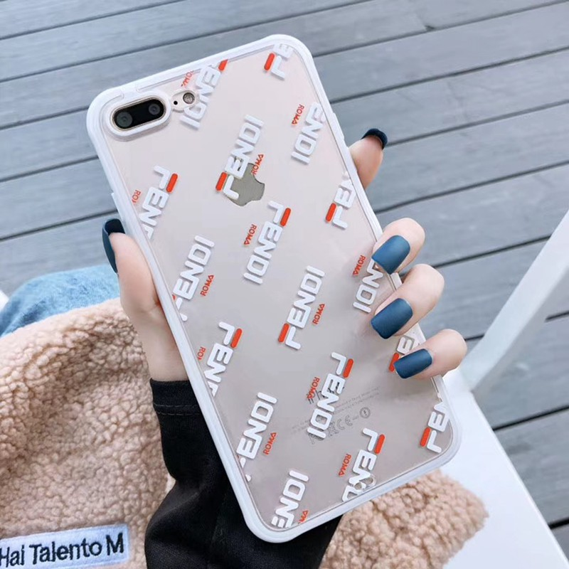 お洒落透明 iphone xr/xs maxケースフェンデイ